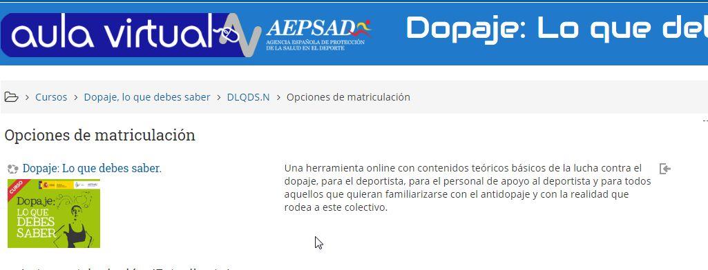 Curso DLQDS Aula Virtual AEPSAD (FFNN)